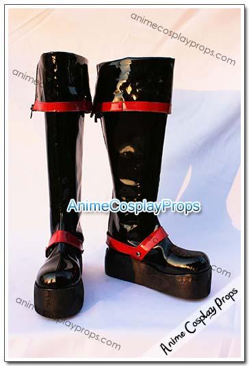 D Gray Man Yu Kanda Cosplay Boots 01