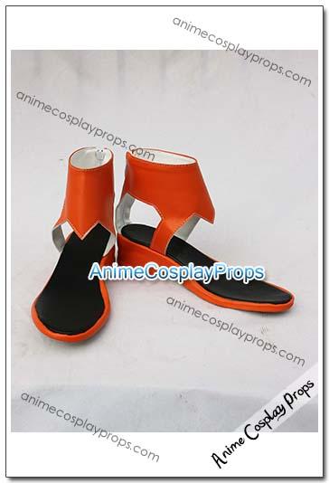 Guilty Crown Inori Yuzuriha Cosplay Boots 01