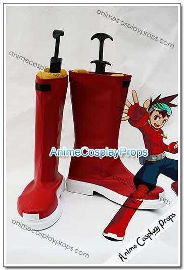 Mega Man Star Force Geo Stelar Cosplay Boots 01