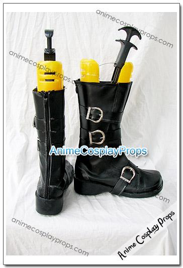 Monochrome Factor Akira Nikaido Cosplay Boots 01