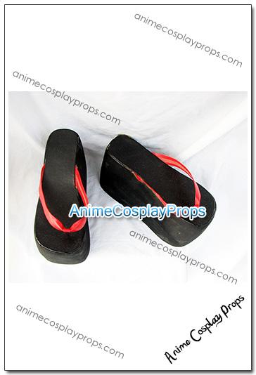Negima Magister Negi Magi Black Cosplay Boots 01