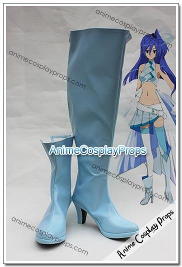 Senki Zessho Symphogear Tsubasa Kazanari Cosplay Boots 01