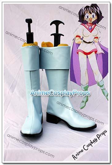 Slayers Amelia Wil Tesla Seyruun Cosplay Boots 01