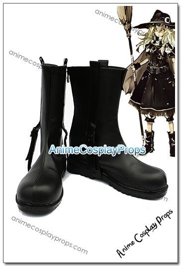Touhou Project Marisa Kirisame Cosplay Boots 01