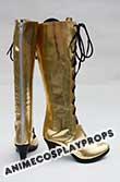 Vocaloid Megurine Luka Cosplay Boots 01