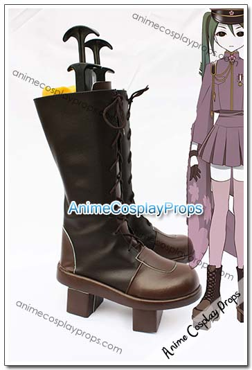 Vocaloid Senbon Sakura Hatsune Miku Cosplay Boots 01
