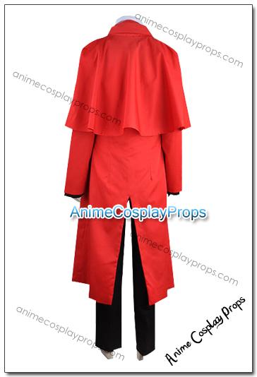 Hellsing Alucard Cosplay Costumes