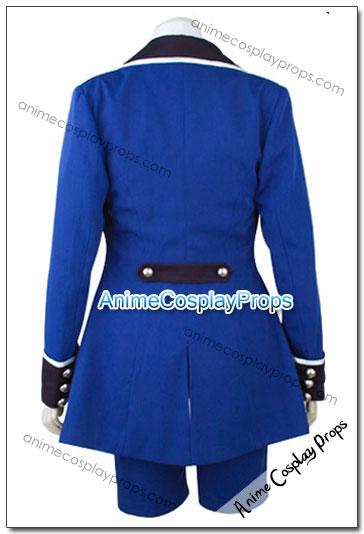 Black Butler Ciel Blue Costume