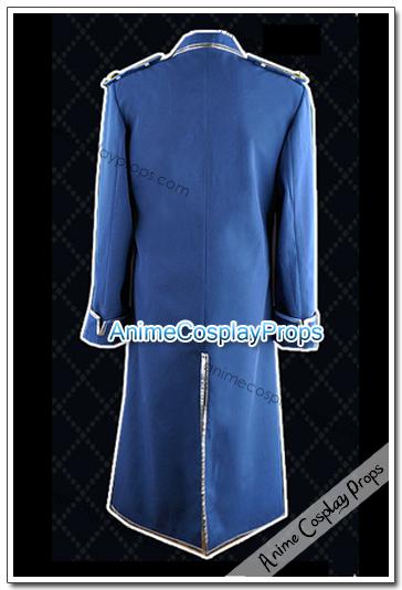 Fullmetal Alchemist King Bradley Cosplay Uniform
