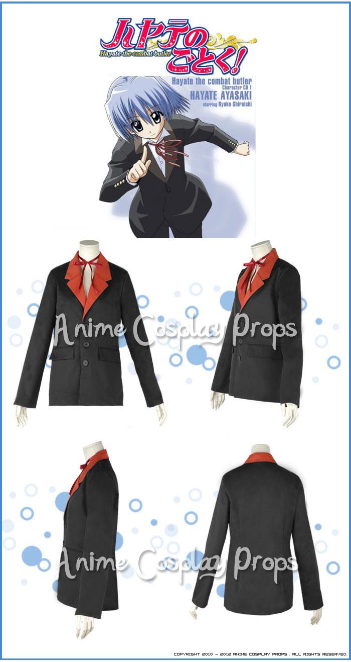 Hayate The Combat Butler Hayate Ayasaki Costume