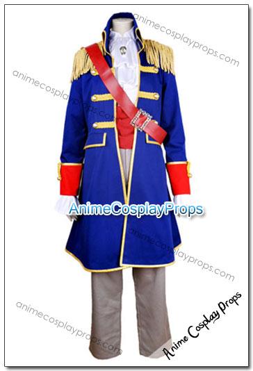 Kuroshitsuji Ciel Phantomhive Cosplay Pirate Costume