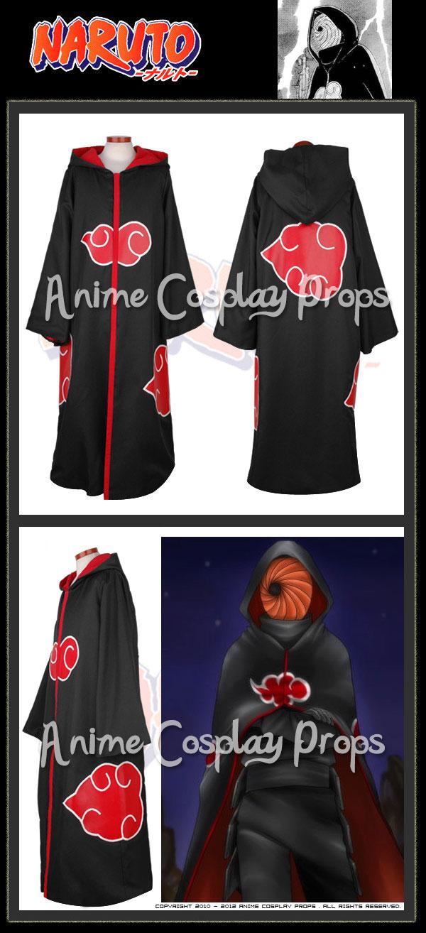 Naruto Cosplay Organization Akatsuki Madara Uchiha Cloak