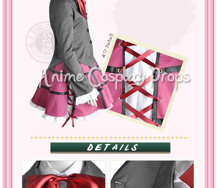 Seitokai No Ichizon Cosplay School Girl Uniform