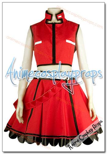 Vocaloid 2 Meiko Cosplay Costume