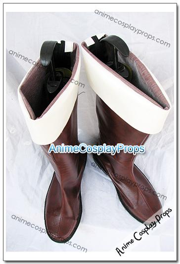 Hetalia Axis Powers Italy Cosplay Shoes 02