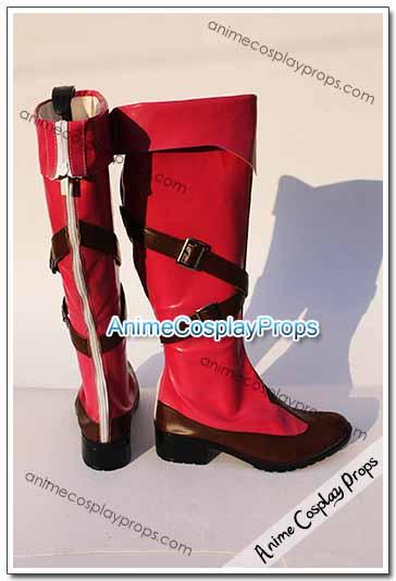 Macross Frontier Ranka Lee Cosplay Shoes 01