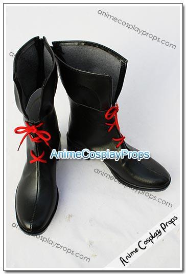Magical Girl Lyrical Nanoha Fate Testarossa Cosplay Shoes 03