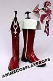 Puella Magi Madoka Magica Kyoko Sakura Cosplay Shoes 01