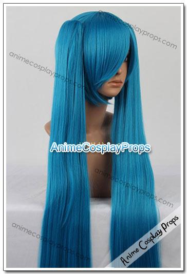 Vocaloid Hatsune Miku Dark Blue Cosplay Wigs 01