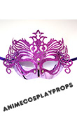 Masquerade Pink Venice Mask 01