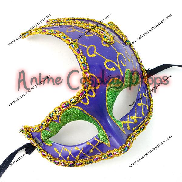 Masquerade Carnival Half Venice Mask 01