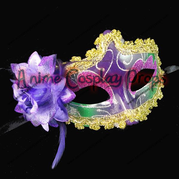 Masquerade Carnival Snow White Venice Mask 01