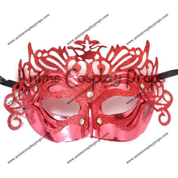 Masquerade Red Venice Mask 01