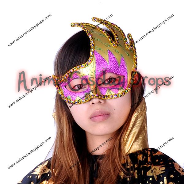 Masquerade Venice Yellow Mask 01