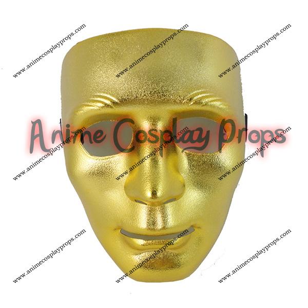 Masquerade Venice Yellow Mask 02