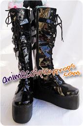 BJD Style Black Boots